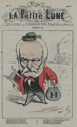 Le retour d'exil de Victor Hugo. Source : http://data.abuledu.org/URI/51a51c0d-le-retour-d-exil-de-victor-hugo