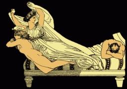 Le rêve d'Agamemnon. Source : http://data.abuledu.org/URI/50d836ec-le-reve-d-agamemnon
