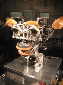 Le robot Kismet en 2005. Source : http://data.abuledu.org/URI/58e9f5ee-le-robot-kismet-en-2005