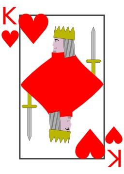 Le roi de coeur. Source : http://data.abuledu.org/URI/5330acd5-le-roi-de-coeur
