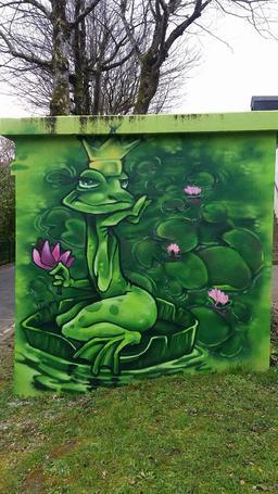 Le roi grenouille. Source : http://data.abuledu.org/URI/56d1973a-le-roi-grenouille