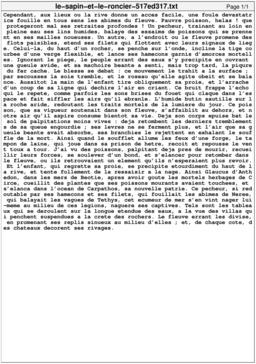 Le sapin et le roncier. Source : http://data.abuledu.org/URI/517ed317-le-sapin-et-le-roncier