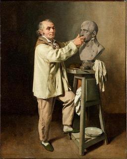 Le sculpteur Houdon. Source : http://data.abuledu.org/URI/51d90b32-le-sculpteur-houdon