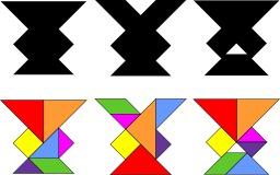 Le tangram des trois vases. Source : http://data.abuledu.org/URI/52f690fe-le-tangram-des-trois-vases