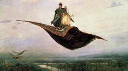 Le tapis volant. Source : http://data.abuledu.org/URI/528d46ef-le-tapis-volant