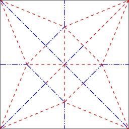 Le théorème de Maekawa en origami. Source : http://data.abuledu.org/URI/52f2a6e7-le-theoreme-de-maekawa-en-origami