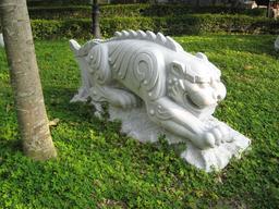 Le tigre du zodiaque chinois. Source : http://data.abuledu.org/URI/535af32e-le-tigre-du-zodiaque-chinois
