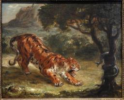 Le tigre et le serpent. Source : http://data.abuledu.org/URI/51a4f5a7-le-tigre-et-le-serpent