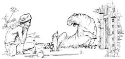 Le tigre, le brahmane et le chacal. Source : http://data.abuledu.org/URI/5079dadd-le-tigre-le-brahmane-et-le-chacal