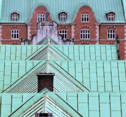 Le toit de la Bourse de Copenhague. Source : http://data.abuledu.org/URI/59180813-le-toit-de-la-bourse-de-copenhague