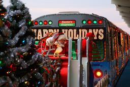 Le train du Père Noël à Chicago. Source : http://data.abuledu.org/URI/52b2bf0b-le-train-du-pere-noel-a-chicago