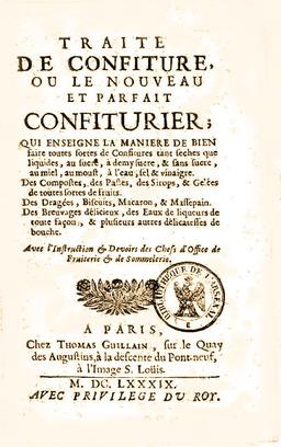 Le traité du confiturier. Source : http://data.abuledu.org/URI/501992e7-le-traite-du-confiturier