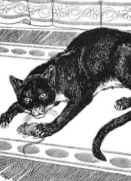 Le Vieux Chat et la Jeune Souris. Source : http://data.abuledu.org/URI/519caa83-le-vieux-chat-et-la-jeune-souris
