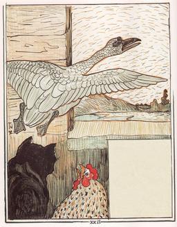 Le vilain petit canard - 23. Source : http://data.abuledu.org/URI/525bb7b1-le-vilain-petit-canard-23