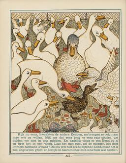 Le vilain petit canard. Source : http://data.abuledu.org/URI/525b2218-le-vilain-petit-canard