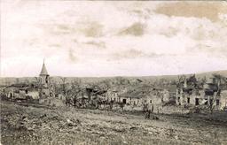 Le village bombardé de Bezonvaux. Source : http://data.abuledu.org/URI/5432ad18-le-village-bombarde-de-bezonvaux