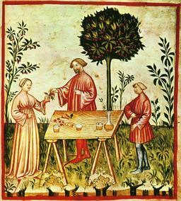 Le vin blanc au Moyen Age. Source : http://data.abuledu.org/URI/50c8ac52-le-vin-blanc-au-moyen-age