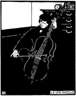 Le violoncelle en 1896. Source : http://data.abuledu.org/URI/551932f1-le-violoncelle-en-1896