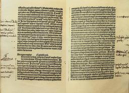 Le voyage de Marco Polo annoté par Christophe Colomb. Source : http://data.abuledu.org/URI/573b8688-le-voyage-de-marco-polo-annote-par-christophe-colomb