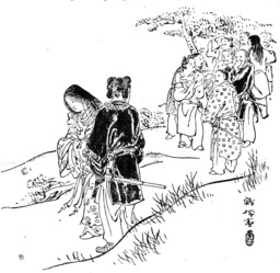 Légende japonaise du lièvre blanc d'Inaba. Source : http://data.abuledu.org/URI/556f6b27-legende-japonaise-du-lievre-blanc-d-inaba