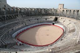 Les arènes d'Arles. Source : http://data.abuledu.org/URI/47f4e669-les-ar-nes-d-arles