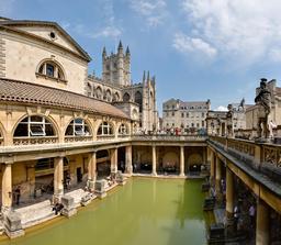 Les bains romains à Bath. Source : http://data.abuledu.org/URI/523a39d5-les-bains-romains-a-bath