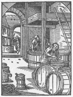 Les brasseurs de bière. Source : http://data.abuledu.org/URI/47f53518-les-brasseurs-de-biere