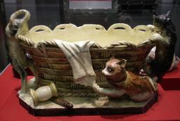 Les chats et le panier de couture. Source : http://data.abuledu.org/URI/53f091cb-les-chats-et-le-panier-de-couture