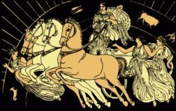 Les chevaux de l'aurore. Source : http://data.abuledu.org/URI/50d8d89d-les-chevaux-de-l-aurore