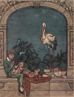 Les cigognes d'Andersen. Source : http://data.abuledu.org/URI/54af0dd8-les-cigognes-d-andersen