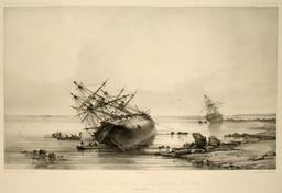Les corvettes dans le détroit de Torrès. Source : http://data.abuledu.org/URI/5981a1f6-les-corvettes-dans-le-detroit-de-torres