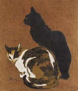 Les deux chats. Source : http://data.abuledu.org/URI/530fce2d-les-deux-chats
