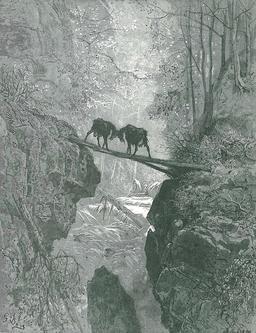 Les Deux Chèvres. Source : http://data.abuledu.org/URI/519ca9d2-les-deux-chevres