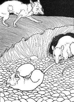Les Deux Rats, le Renard, et l'Œuf. Source : http://data.abuledu.org/URI/519bd39f-les-deux-rats-le-renard-et-l-oeuf
