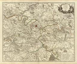 Les environs de Paris en 1757. Source : http://data.abuledu.org/URI/5142275a-les-environs-de-paris-en-1757