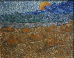 Les foins et la lune montante. Source : http://data.abuledu.org/URI/51c9368c-les-foins-et-la-lune-montante
