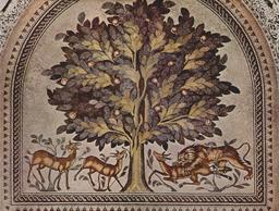 Les gazelles et le lion. Source : http://data.abuledu.org/URI/5357b8e9-les-gazelles-et-le-lion