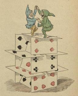 Les gnomes et la maison de cartes 15. Source : http://data.abuledu.org/URI/51f03bd8-les-gnomes-et-la-maison-de-cartes-15