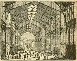 Les Halles de Paris en 1877. Source : http://data.abuledu.org/URI/524f0082-les-halles-de-paris-en-1877