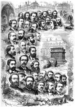 Les hommes de la Commune, 1871. Source : http://data.abuledu.org/URI/5071fc70-les-hommes-de-la-commune-1871