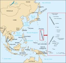 Les îles Mariannes. Source : http://data.abuledu.org/URI/51cf5945-les-iles-mariannes