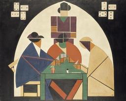 Les joueurs de cartes. Source : http://data.abuledu.org/URI/5380cadb-les-joueurs-de-cartes