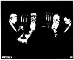 Les joueurs de poker en 1896. Source : http://data.abuledu.org/URI/551930e4-les-joueurs-de-poker-en-1896