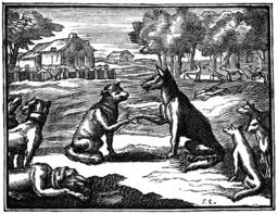 Les loups et les brebis. Source : http://data.abuledu.org/URI/510c2917-les-loups-et-les-brebis