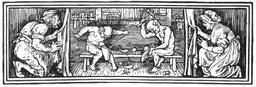 Les lutins et le cordonnier. Source : http://data.abuledu.org/URI/50d2d5f8-les-lutins-et-le-cordonnier