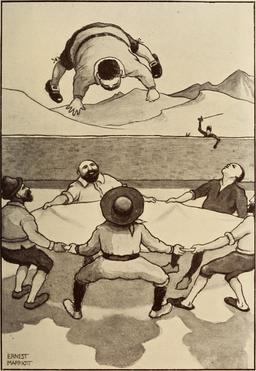 Les malheurs de Sancho Panza en 1908. Source : http://data.abuledu.org/URI/596365f1-les-malheurs-de-sancho-panza-en-1908