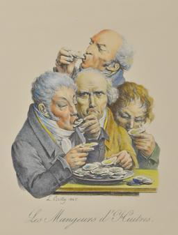 Les mangeurs d'huitres. Source : http://data.abuledu.org/URI/51d889be-les-mangeurs-d-huitres