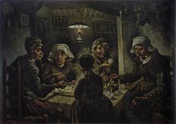 Les mangeurs de pommes de terre. Source : http://data.abuledu.org/URI/505dcf43-les-mangeurs-de-pommes-de-terre