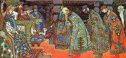 Les marchands et le tsar Saltan. Source : http://data.abuledu.org/URI/52bc15fa-les-marchands-et-le-sultan