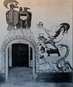 Les musiciens de Brême à Fort Napoléon. Source : http://data.abuledu.org/URI/537bba97-les-musiciens-de-breme-a-fort-napoleon